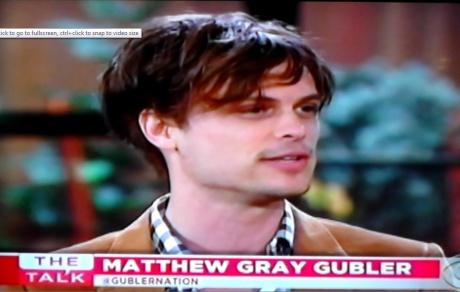 gallery matthew gray gubler fans