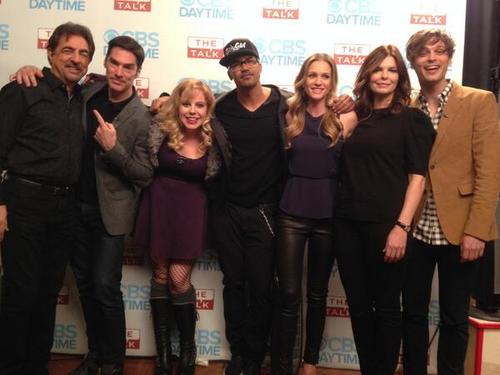 Video: The Criminal Minds Cast Visits The Talk   Matthew Gray Gubler