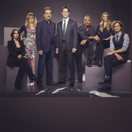 Criminal Minds Season 10 Cast Photo And Behind The Scenes Pics