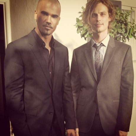 Shemar and Matthew